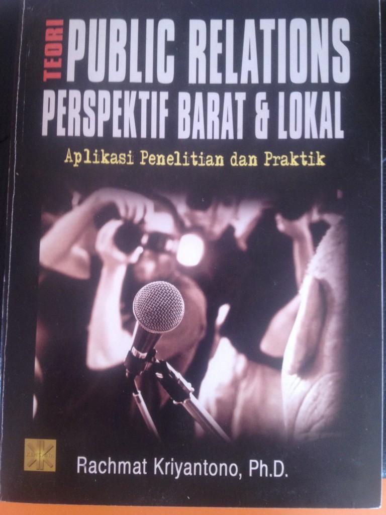 Halaman Sampul Buku Teori Public Relations Perspektif Barat dan Lokal