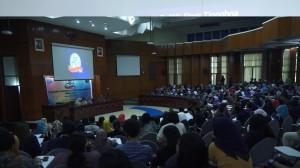 Suasana Konferensi Nasional Komunikasi Politik 2014